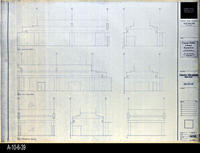 Blueprint - Corona Public Library - Interior Elevations Main Level - A5.10