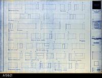 Blueprint - Corona Public Library - Interior Elevations Lower Level - A5.2