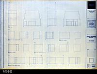 Blueprint - Corona Public Library - Interior Elevations Main Level - A5.4