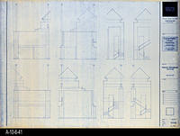 Blueprint - Corona Public Library - Interior Elevations Main Level - A5.12