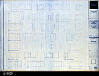 Blueprint - Corona Public Library - Interior Elevations Lower Level - A5.1
