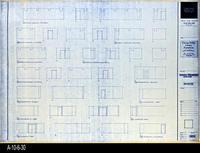 Blueprint - Corona Public Library - Interior Elevations Lower Level - A5.1