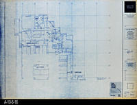 Blueprint - Corona Public Library - Lower Level Signal Plan North - E4.1.1