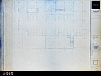 Blueprint - Corona Public Library - Lower Level Signal Plan South - E4.1