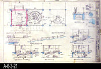 Blueprint - A-17 Architectural: Stairs, Planter, and Ramp Details and Elevations...