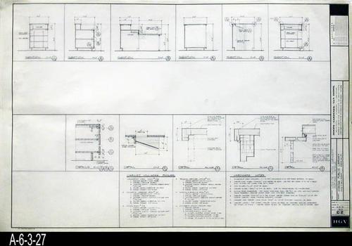 Blueprint c 2 architectural interior finish cabinets sections blueprint c 2 architectural interior finish cabinets sections and details malvernweather Images
