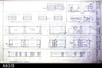 Blueprint - A-14 Architectural: Interior Elevations and Exterior Elevations...