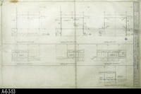 Blueprint - A-2 - A-1 Additive Alternate No. 1:  Floor Plan, Roof Plan, Ground...