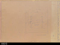 Blueprint - Heritage Room Mechanical Plan - Job No. 101-73