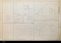 Blueprint - 1984 - United Methodist Chruch - Site Demolition Plan - Church Enhancement...