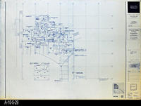 Blueprint - Corona Public Library - Lower Level Signal Plan North - E4.1