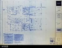 Blueprint - Corona Public Library - Main Level Power Plan South - E3.4