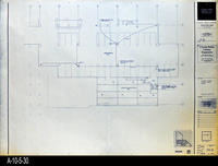 Blueprint - Corona Public Library - Lower Level Signal Plan South - E4.2
