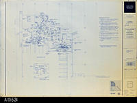 Blueprint - Corona Public Library - Lower Level Power Plan North - E3.1
