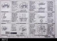 Blueprint - 1993 - Courtyard Plan View Enlargement - Drawing L-3
