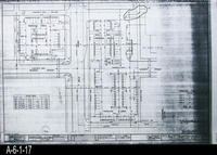 Blueprint - 1993 - Horizontal Control Plan - Drawing C-6