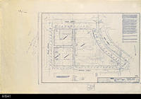 Blueprint - Corona Public Library -  Topographic Survey