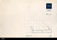 Blueprint - Corona Public Library - Messanine Plan