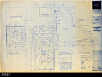 Blueprint - Corona Public Library - Proposed Site and Grading Plan - A1.1
