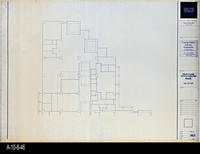 Blueprint - Corona Public Library - Main Level Reflected Ceiling Plan North...