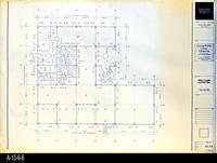 Blueprint - Corona Public Library - Main Level Demolition Plan - A1.3.4