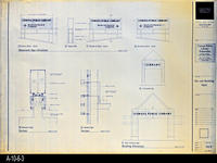 Blueprint - Corona Public Library - Site and Building Signs - A1.3