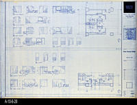 Blueprint - Corona Public Library - Toilet Room Plans - A4.2