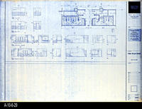 Blueprint - Corona Public Library - Toilet Room Plans - A4.3