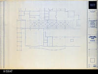 Blueprint - Corona Public Library - Main Level Reflected Ceiling Plan South...