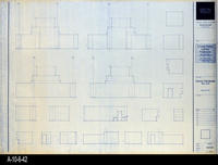 Blueprint - Corona Public Library - Interior Elevations Main Level - A5.13