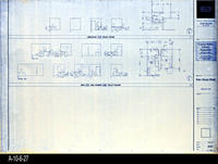 Blueprint - Corona Public Library - Toilet Room Plans - A4.1