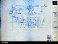 Blueprint - Corona Public Library - Main Level Signal Plan South - E4.1.3