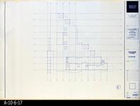 Blueprint - Corona Public Library - Mezzanine Floor Plan  - A2.1.3