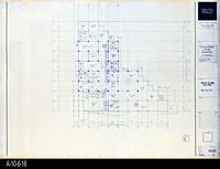 Blueprint - Corona Public Library - Main Level Floor Plan  - A2.1.2
