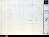 Blueprint - Corona Public Library - Lower Level Floor Plan South  - A2.2.2