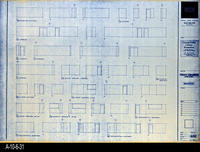 Blueprint - Corona Public Library - Interior Elevations Lower Level - A5.2
