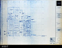 Blueprint - Corona Public Library - Main Level Signal Plan North - E4.1.2
