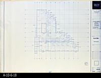 Blueprint - Corona Public Library - Roof Plan  - A2.1.4