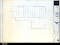 Blueprint - Corona Public Library - Lower Level Reflected Ceiling Plan South...