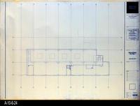Blueprint - Corona Public Library - Mezzanine Floor Plan  - A2.2.6