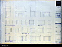 Blueprint - Corona Public Library - Interior Elevations Main Level - A5.4