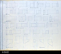 Blueprint - Corona Public Library - Interior Elevations Lower Level - A5.3