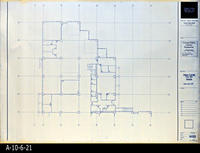 Blueprint - Corona Public Library - Main Level Floor Plan North  - A2.2.3