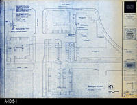 Blueprint - Corona Public Library - Electrical Site Plan - E1.1.1