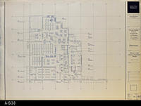 Blueprint - 1992 - Interiors - Main Level Library Furniture - North