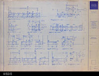Blueprint - c. 1992 - Millwork Plans and Elevations - Periodical, Info, and...