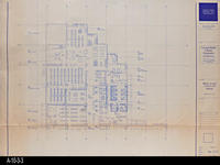 Blueprint - 1991 - Main Level - Furniture Plan - North