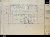 Blueprint - 1992 - Interiors - Main Level Library Furniture - South