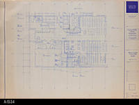 Blueprint - 1991 - Main Level - Furniture Plan - South