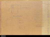 Blueprint - Electrical, Single Line Diagram - Job No. 101-73